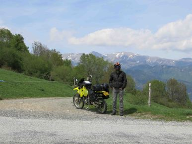 Back across the Pyrenees