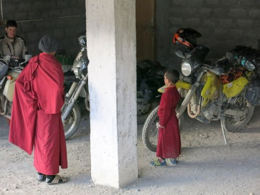 The Monks loved the bikes