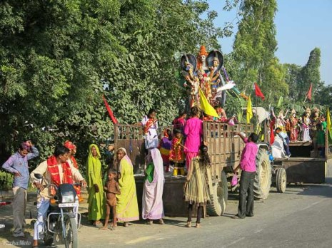 Durga Puja getting into full swing