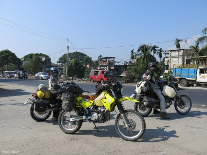 The cross roads of Siliguri not only marked the stop of seconds of deliberation but 15,000 miles from home