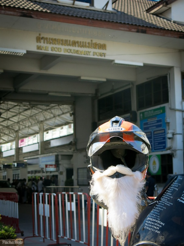 Welcome to Thailand Mr Clause