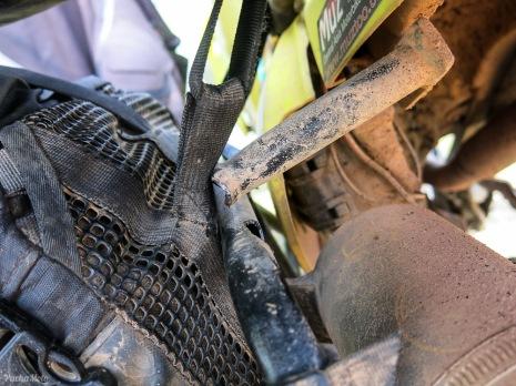 Rear rack crack